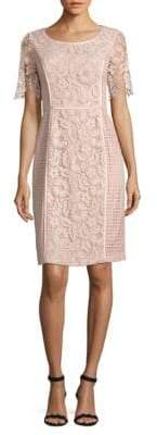 NUE by Shani Roundneck Lace Dress