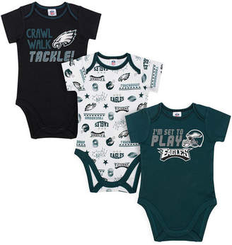 Gerber Philadelphia Eagles 3 Pack Creeper Set, Infants (0-9 Months)