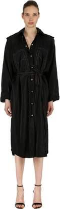 Nina Ricci Viscose Blend Shirt Dress