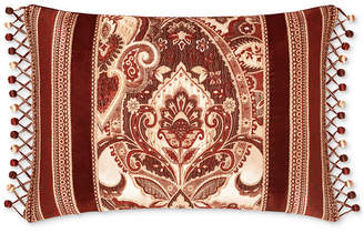 "J Queen New York Rosewood Burgundy 15"" x 21"" Decorative Pillow Bedding"