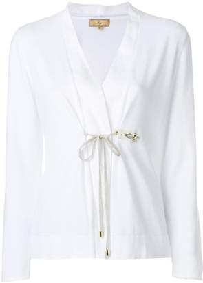 Fay tie front cardigan