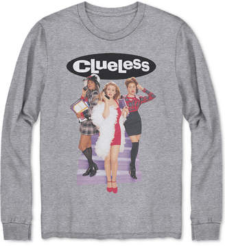 Hybrid Men's Long-Sleeve Clueless Graphic T-Shirt