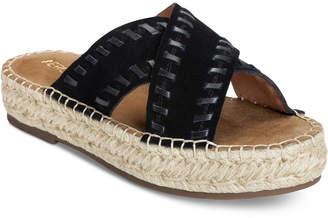 Aerosoles Rose Gold Espadrille Slide Sandals Women's Shoes