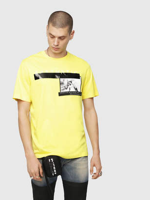 Diesel T-Shirts 0HARE - Yellow - S