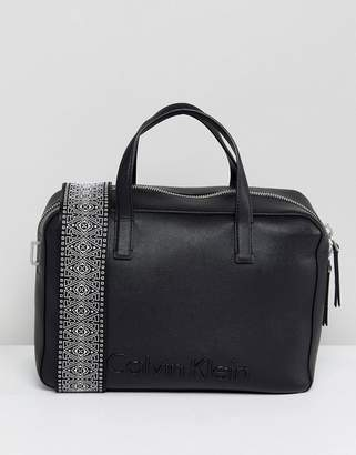 Calvin Klein Duffle Bag With Wide Strap