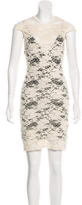 L'Agence Lace Sleeveless Dress