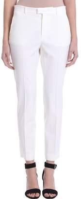 RED Valentino White Cr?pe Pants