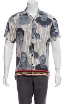 Lanvin Printed Short Sleeve Shirt
