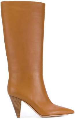 Gianvito Rossi pointed mid-calf boots