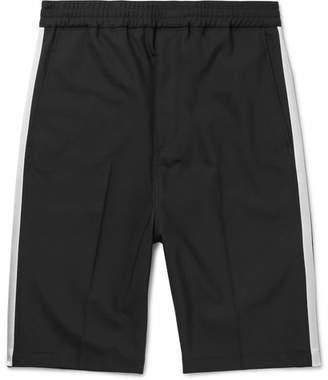 Neil Barrett Satin-Trimmed Stretch-Woven Shorts