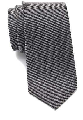 14th & Union Lain Stripe & Dash Tie