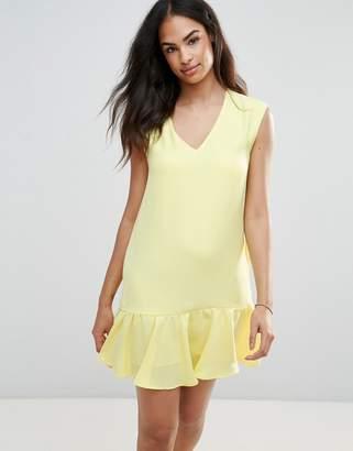 Frnch Pep Hem Dress