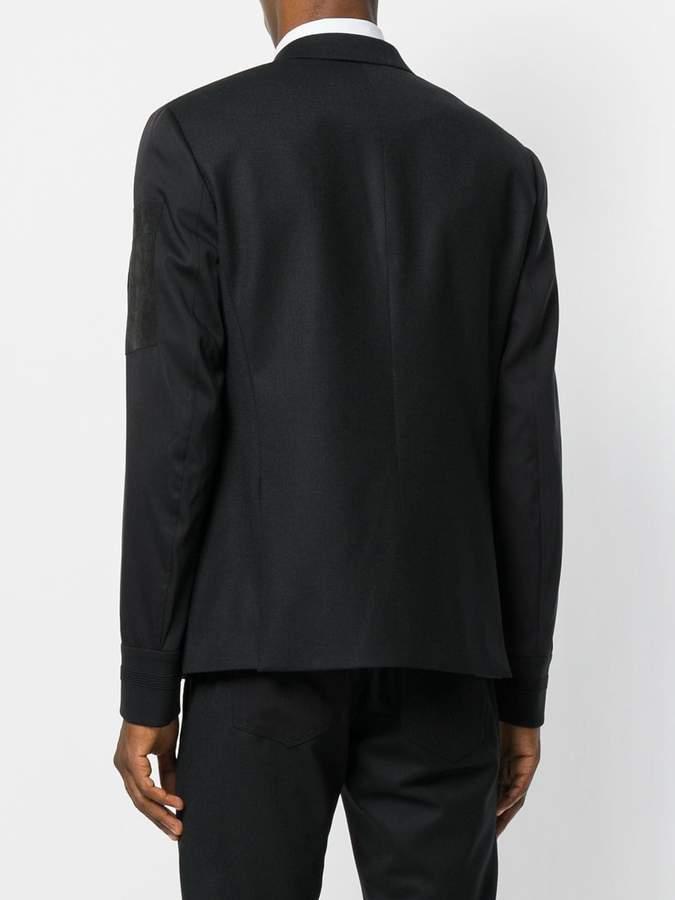 Neil Barrett zip detail blazer