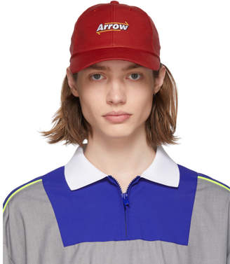 Ader Error ADER error Red Arrow Mesh Cap