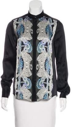 Temperley London Printed Silk Blouse