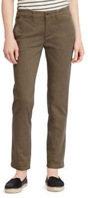 Lauren Ralph Lauren Stretch Chino Straight Pants
