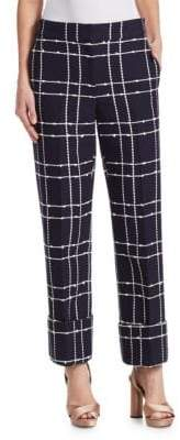 Oscar de la Renta Tweed Pants