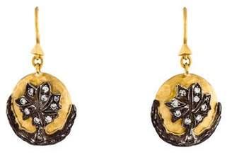 Cathy Waterman Diamond Drop Earrings