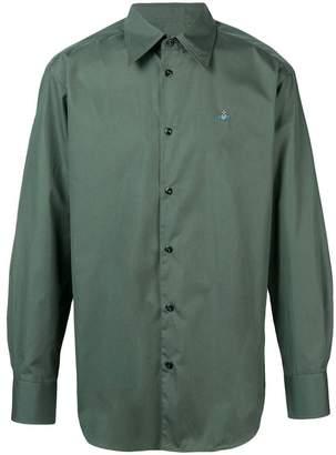 Vivienne Westwood logo long-sleeved shirt