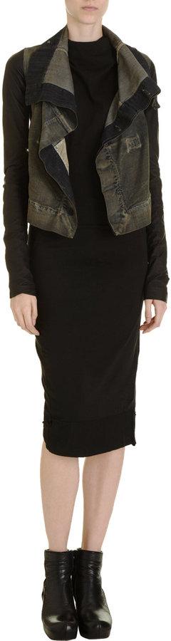 Rick Owens DRKSHDW Open Back Dress