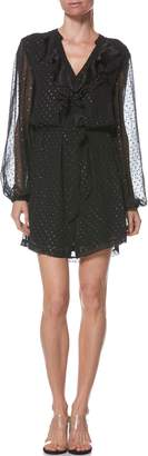 Paige Isabelle Shimmer Dot Dress