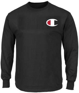 Champion Long Sleeve Logo Shirt (Big & Tall)