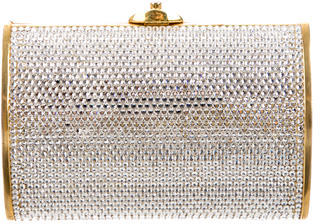 Judith Leiber Embellished Versaille Clutch $665 thestylecure.com