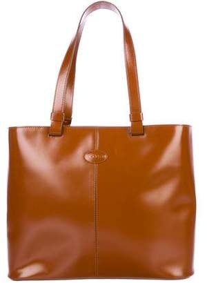 Tod's Smooth Leather Tote