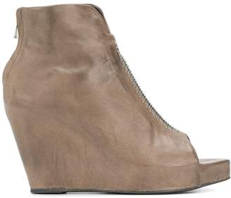 Isaac Sellam Experience open toe wedges