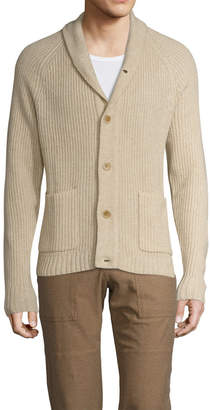 James Perse Wool Stitch Cardigan