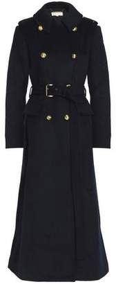 MICHAEL Michael Kors Double-breasted Brushed Wool-blend Coat