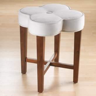 Hillsdale Furniture Clover Vanity Stool, Cherry