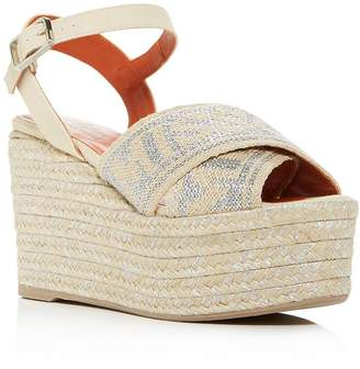 0c238595aa3 Castaner Platform Wedge Women's Sandals - ShopStyle