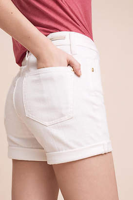 Pilcro Script High-Rise Shorts $68 thestylecure.com
