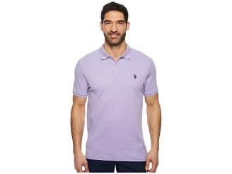 U.S. Polo Assn. Solid Interlock Polo Men's Short Sleeve Knit