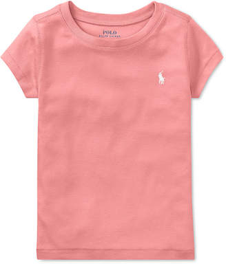 Polo Ralph Lauren Little Girls Crew-Neck T-Shirt