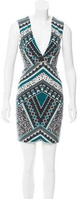 Tart Abstract Printed Mini Dress