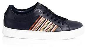 Paul Smith Men's Ivo Striped Leather Sneakers