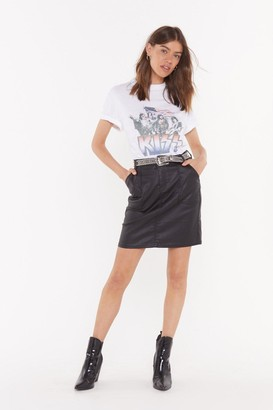 Nasty Gal Smells Like Teen Spirit Denim Skirt