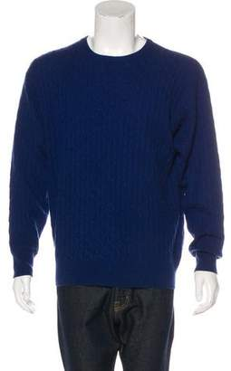 Barneys New York Barney's New York Cashmere Cable Knit Sweaterc