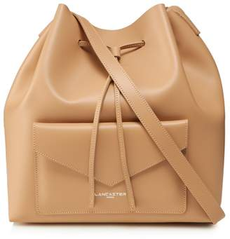 Lancaster Camel Leather Duffle Bag