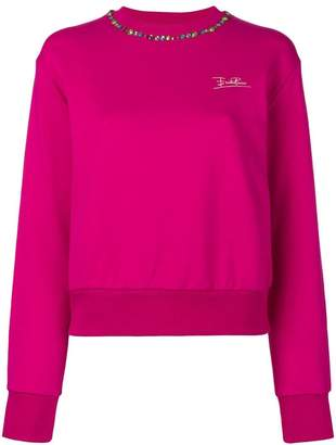 Emilio Pucci sequinned collar sweater