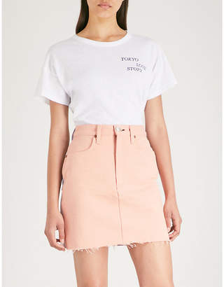 Rag & Bone Tokyo Love Story print cotton-jersey T-shirt