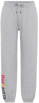 Burberry Archive Logo jersey trackpants