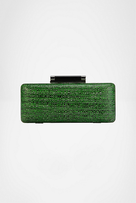 Tonda Tweed Clutch