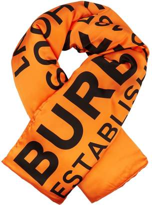 Burberry Padded Horseferry Scarf