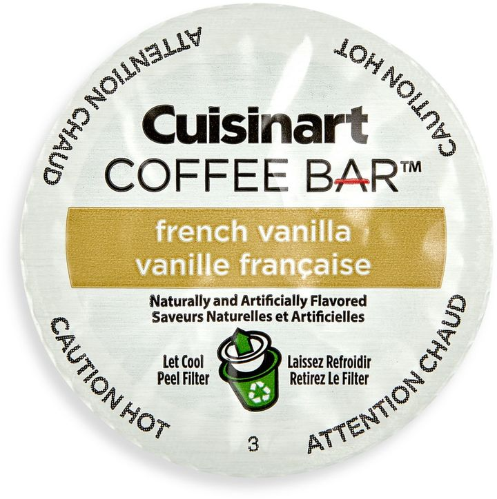 18-Count Cuisinart® Coffee BarTM French Vanilla Coffee for Single Serve Coffee Makers