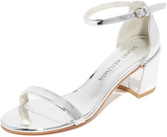 Stuart Weitzman Simple City Sandals $425 thestylecure.com