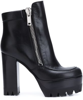 Mulberry platform sole chunky heel boots $1,120 thestylecure.com