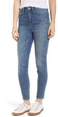 Treasure & Bond Charity High Waist Skinny Ankle Jeans (Rain Dusk Worn)
